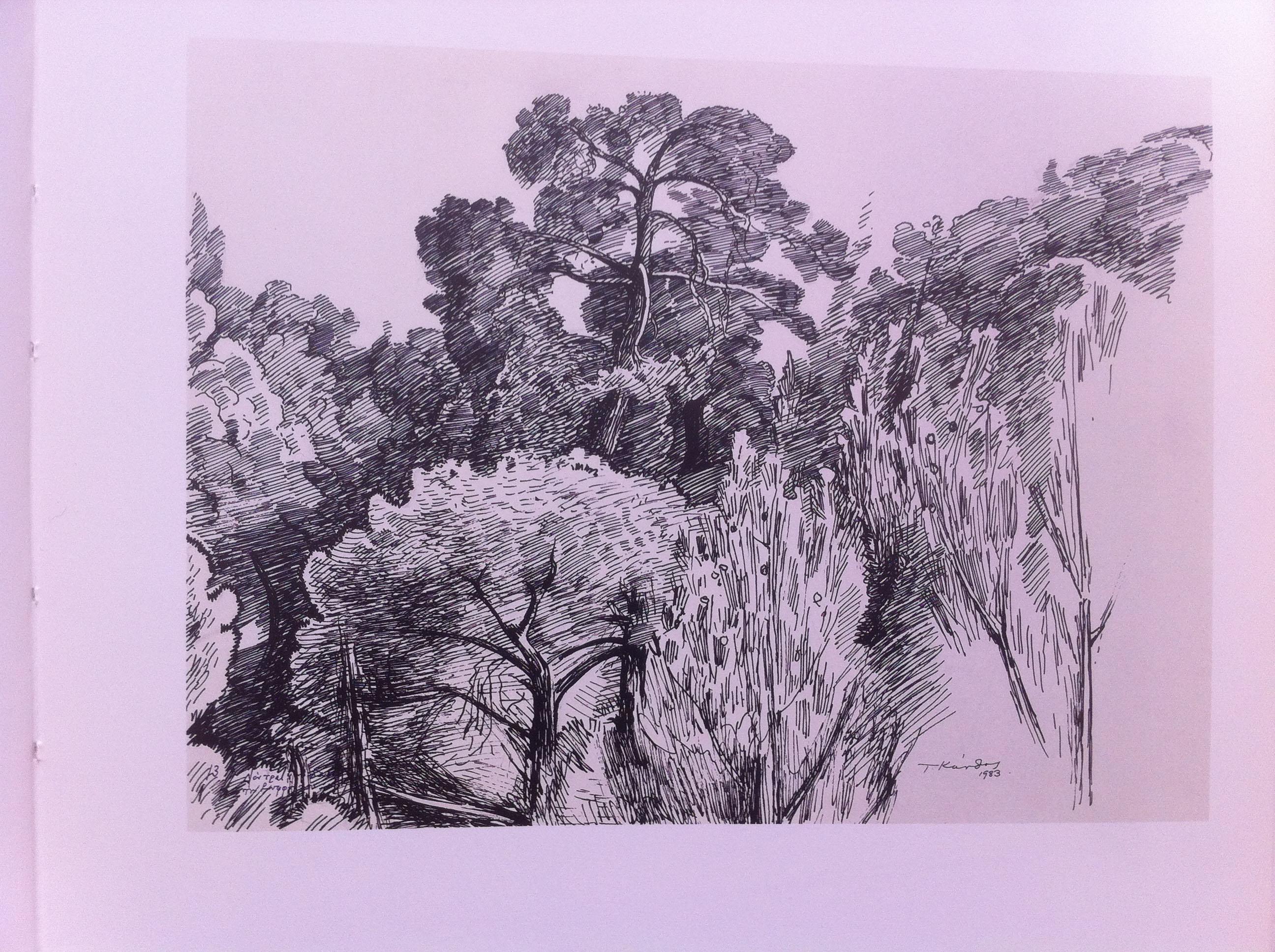 part 3 outdoors u2013 exercise 1 sketching individual trees u2013 rosefineart