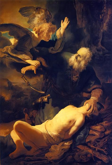 Abraham and IssacRembrandt van Rijn, 1634